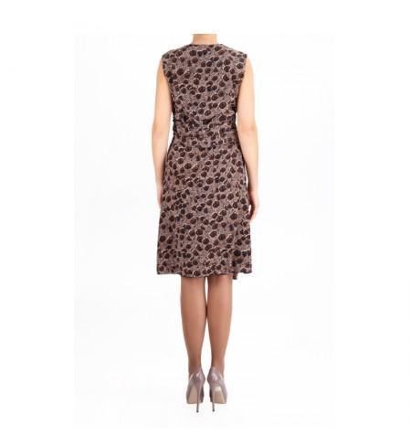 Платье SALVATORE FERRAGAMO Toni_Marrone