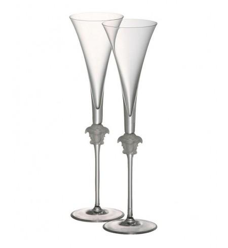 Бокал VERSACE Medusa Lumiere Champagne