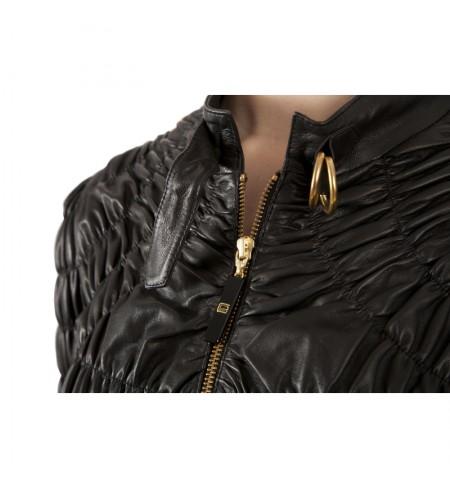 Кожаная куртка CLASS ROBERTO CAVALLI