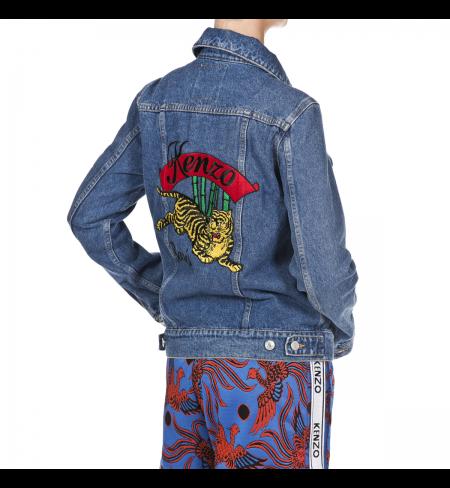 Джинсовая куртка KENZO Ink