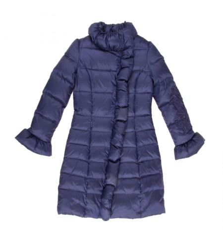 Пуховое пальто MISS BLUMARINE JEANS
