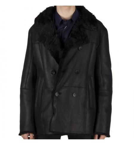 Кожаная куртка ARMANI COLLEZIONI