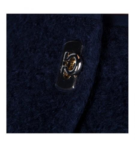Пальто SALVATORE FERRAGAMO Blue_Notte