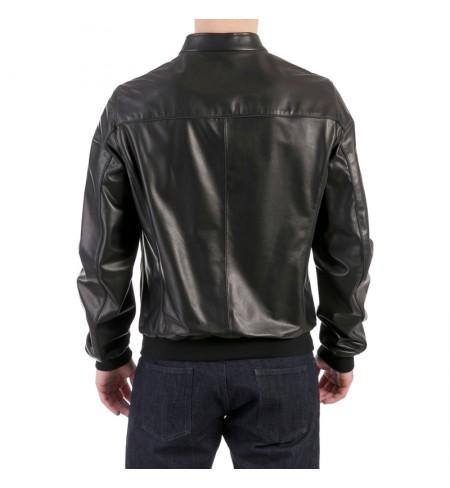 Кожаная куртка SALVATORE FERRAGAMO
