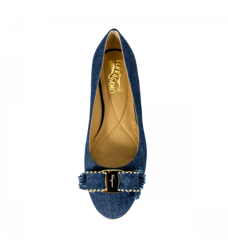 Туфли SALVATORE FERRAGAMO Navy