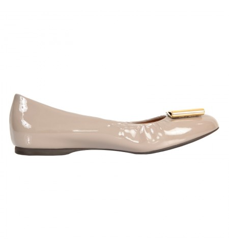 Туфли SALVATORE FERRAGAMO Grey Opal