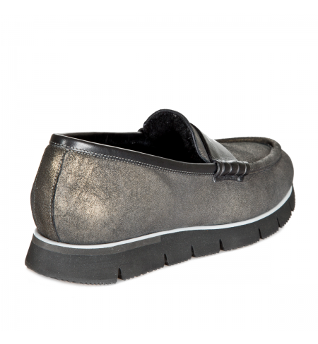 Мокасины Santoni Pantofi Bordata