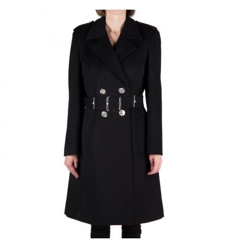 Пальто VERSACE Black
