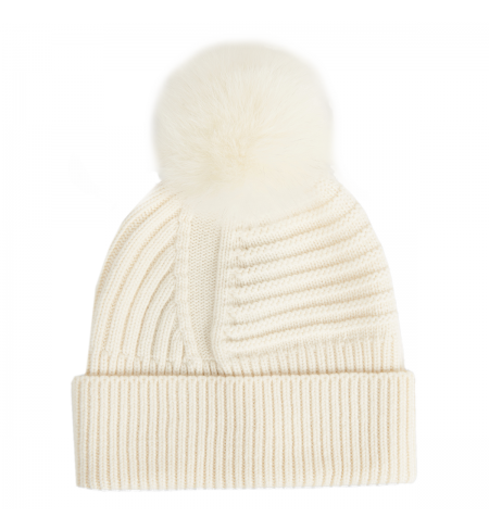 Шапка WOOLRICH White
