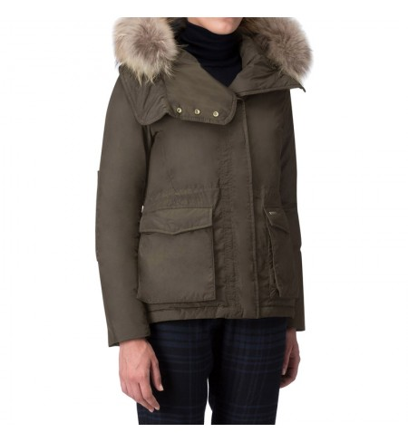 Пуховик WOOLRICH Dark Green