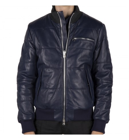 Кожаная куртка ICEBERG