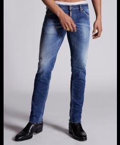 Джинсы DSQUARED2 Pants 5 Po Navy Blue