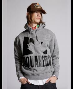 Спортивная кофта DSQUARED2 Dark Grey Melange