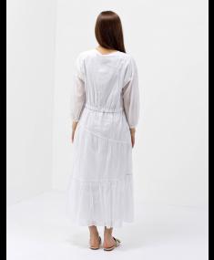 Платье PESERICO White