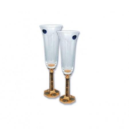 Glāžu komplekts CREDANSA Champagne