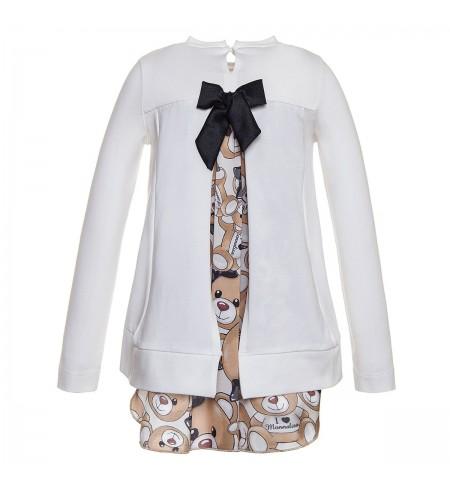 Krekls ar garām piedurknēm MONNALISA Panna