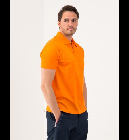 Polo krekls PAUL AND SHARK Orange