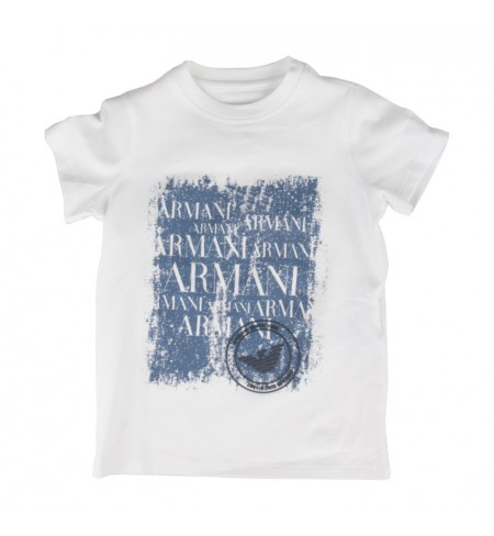 T-krekls ARMANI JUNIOR White