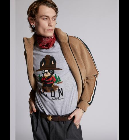 T-krekls DSQUARED2 Grey Melange
