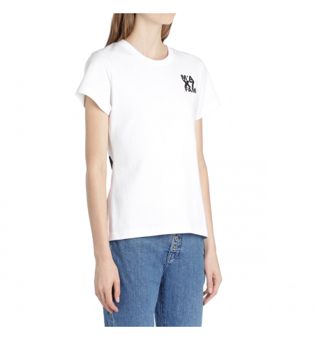 T-krekls FOR ALL MANKIND 7 Jersey White
