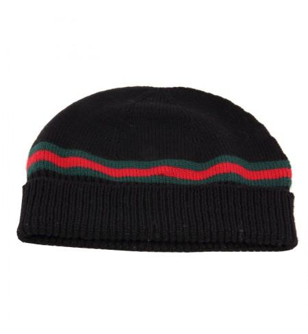 Cepure GUCCI Black/Dk.Green