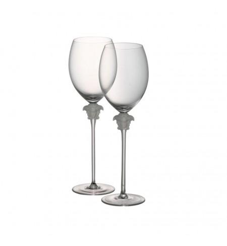 Glāze VERSACE Medusa Lumiere White Wine