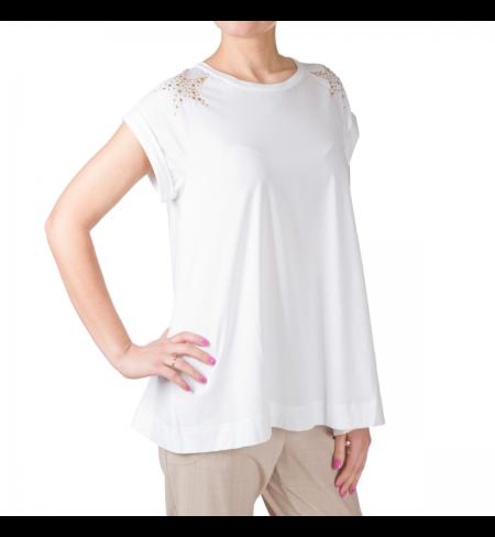 T-krekls LORENA ANTONIAZZI White Gold