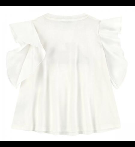 T-krekls MONCLER White