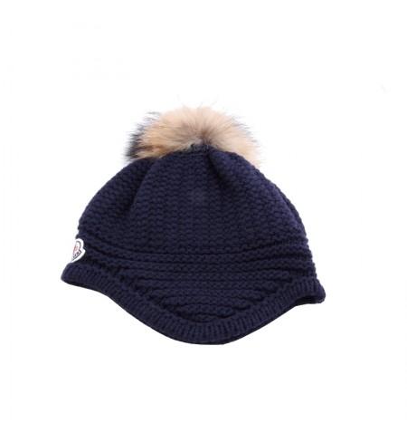 Cepure MONCLER Blue Marine