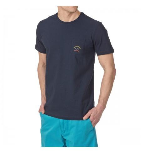 T-krekls PAUL AND SHARK Blue