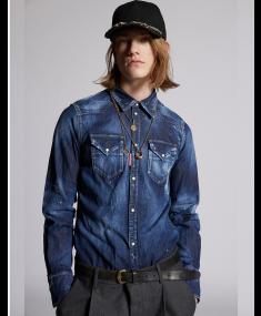 Krekls DSQUARED2 Navy Blue
