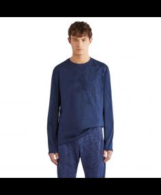 Krekls ar garām piedurknēm ETRO Blue