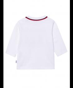 Krekls ar garām piedurknēm HUGO BOSS White