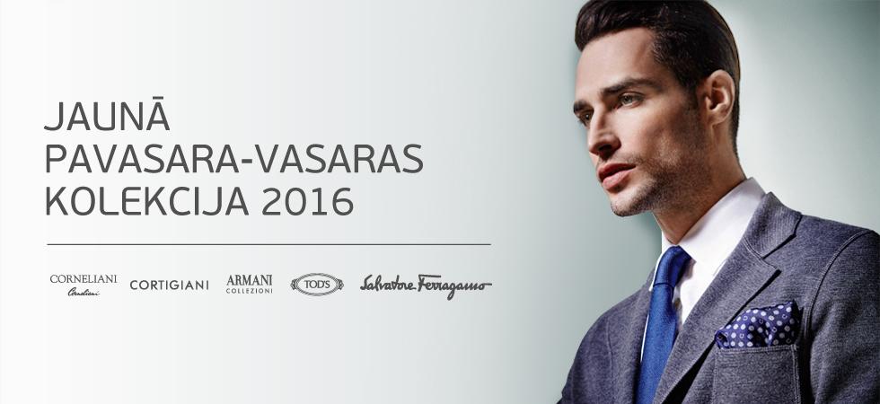 Vīriešu Jauna Kolekcija SS 2016