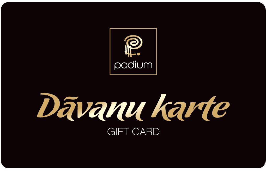 PODIUM Gift card